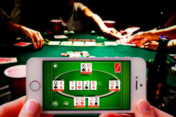 Online Game of Poker Tournaments
